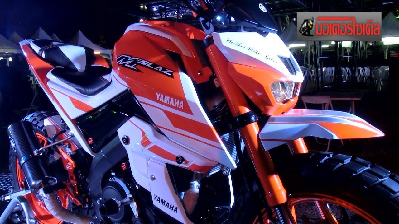 m slaz 150 รวมรถแต งท กสำน กในงาน yamaha rev community youtube