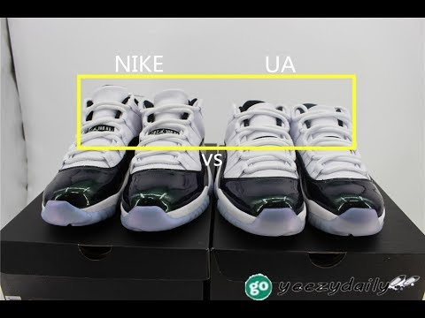 2732257de61 AIR JORDAN 11 RETRO LOW  EMERALD EASTER  HD Reviews - YouTube