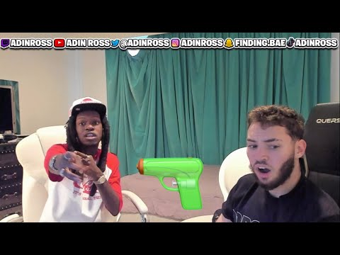 ADIN AND JULIO FOOLIO TALK ABOUT GANG STORIES