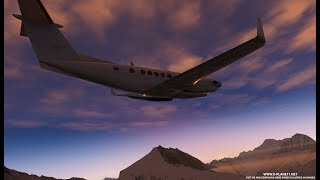 x plane 11 fly from Lukla to Mount Everest, 4K full image video