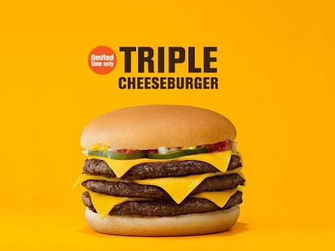 Mcdonald S Triple Cheeseburger Review Youtube