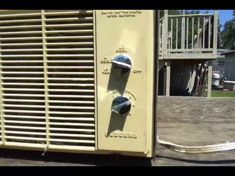 Late 1970 S 5000 Btu Fedders Air Conditioner Youtube