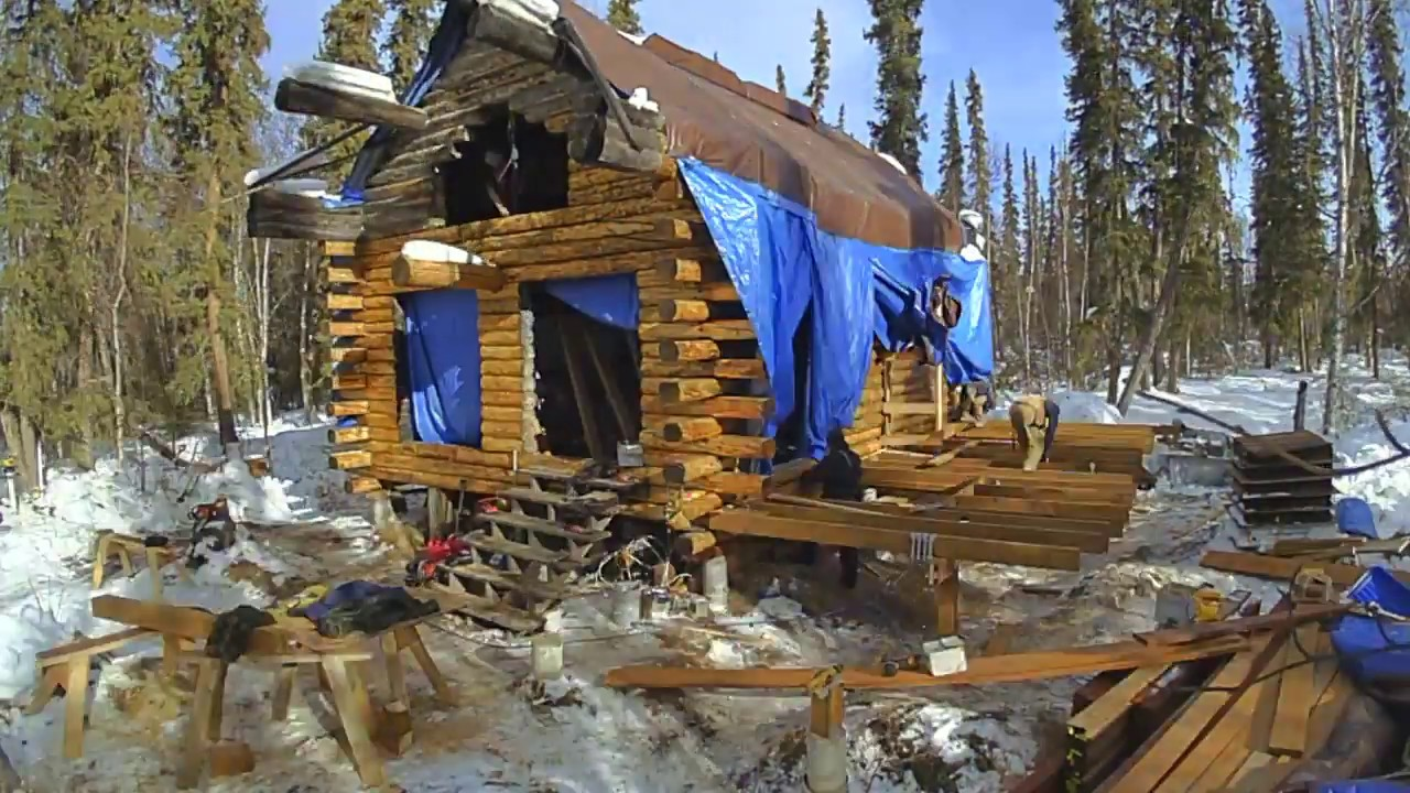 All Decked Out   Remote Alaska Cabin Part 1