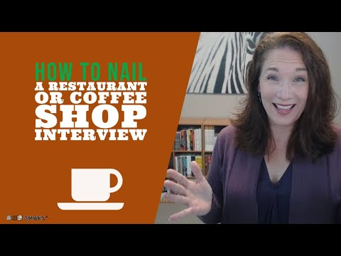 How to nail the coffee shop interview
