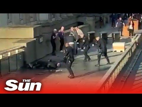 London Bridge shooting – Man shot, several injured in knife attack