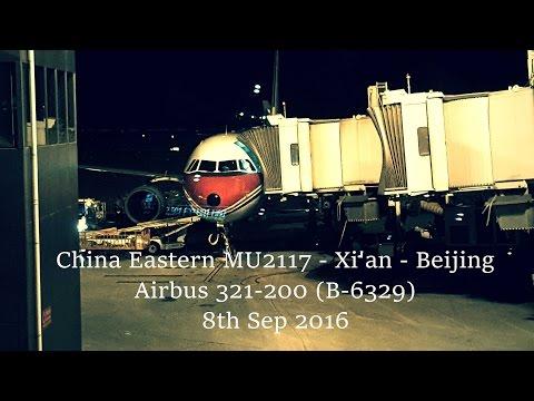 China Eastern MU2117 - Xi'an to Beijing - Airbus A321-200