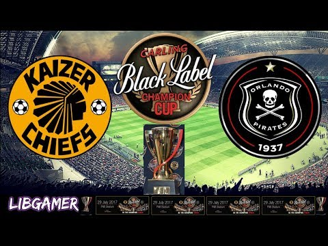 LIBGamer PES 2017 Carling Black Label Cup - Kaizer Chief vs Orlando Pirates