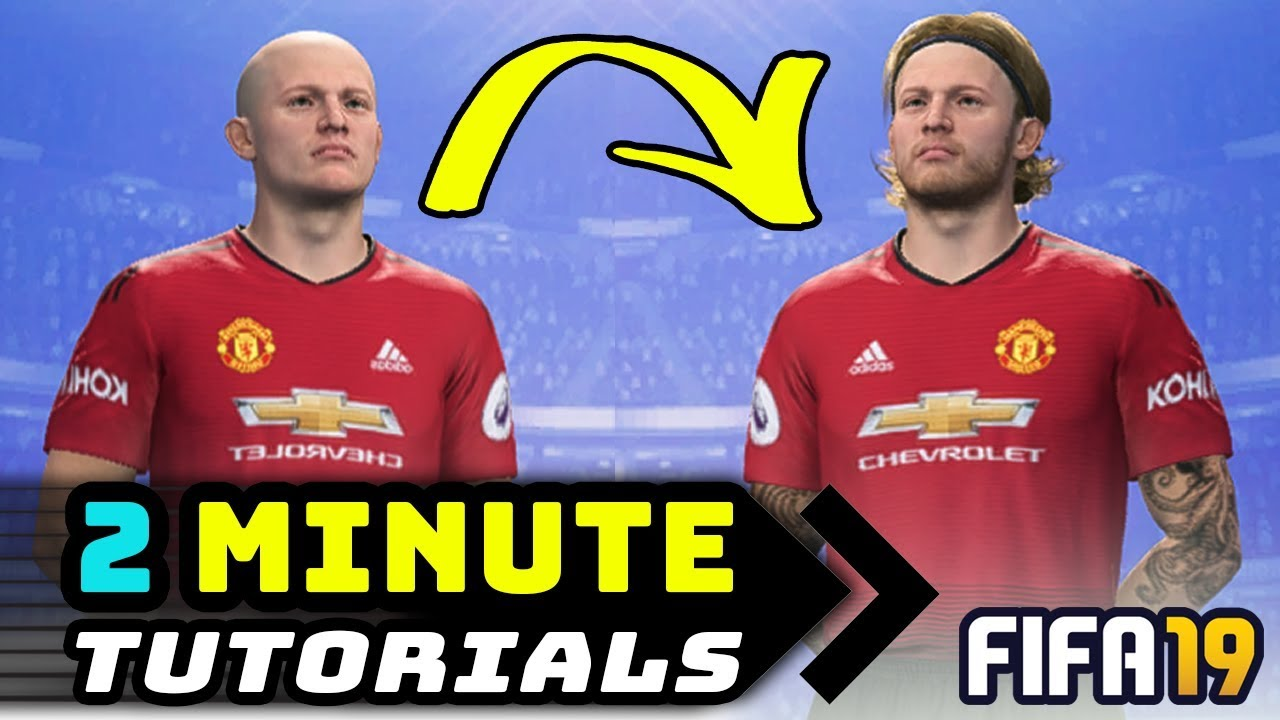 EDIT PLAYERS APPEARANCE - FIFA 19 CHEAT TABLE - 2 MIN TUTORIAL #1