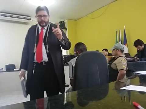 TRIBUNAL DO JÚRI - TESE: LEGÍTIMA DEFESA (DR. ERNANDE FILHO OAB/PE.21.709) DIA: 05/11/2016