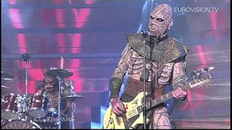 Lordi - Hard Rock Hallelujah (Finland) 2006 Eurovision Song Contest Winner
