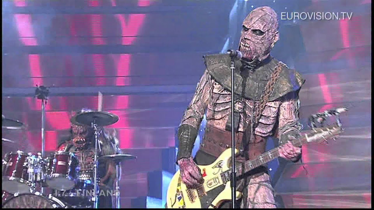 Lordi - Hard Rock Hallelujah (Finland) 2006 Eurovision Song Contest Winner - YouTube