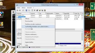 Windows 8 Tpps & Tricks #003 Laufwerksbuchstaben- oder namen ändern (Germna/Deutsch) HD