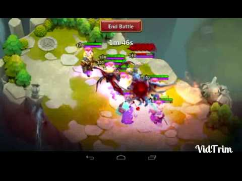 Castle Clash Solo LR Boss With 3mins