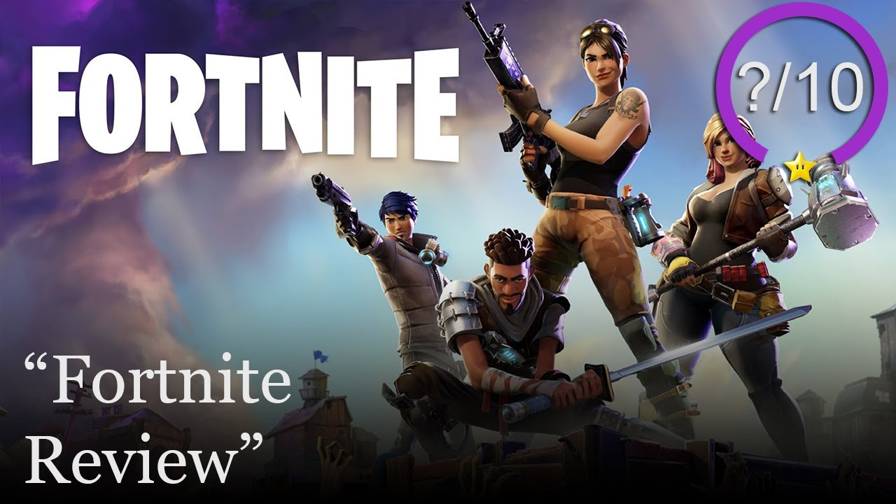 Fortnite PS4 Review - YouTube