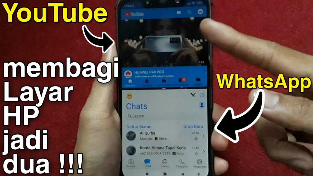 Cara Membagi Layar Menjadi Dua Di Semua Android Youtube
