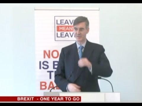 JRM full speech: 'Brexit - One Year To Go'