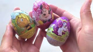 Peppa Pig Surprise Eggs Peppa Pig Toys Play Dough Eggs Surprise Toys Juguetes de Peppa Pig