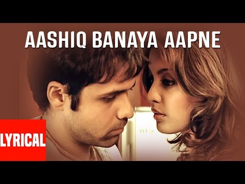 """Aashiq Banaya Aapne Title Song"" Lyrical Video | Himesh Reshammiya | Emraan Hashmi, Tanushree Dutta"