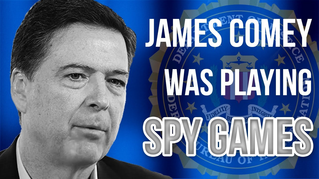 "Judicial Watch James Comey Was ""PLAYING SPY GAMES"" on Trump From the BEGINNING! 