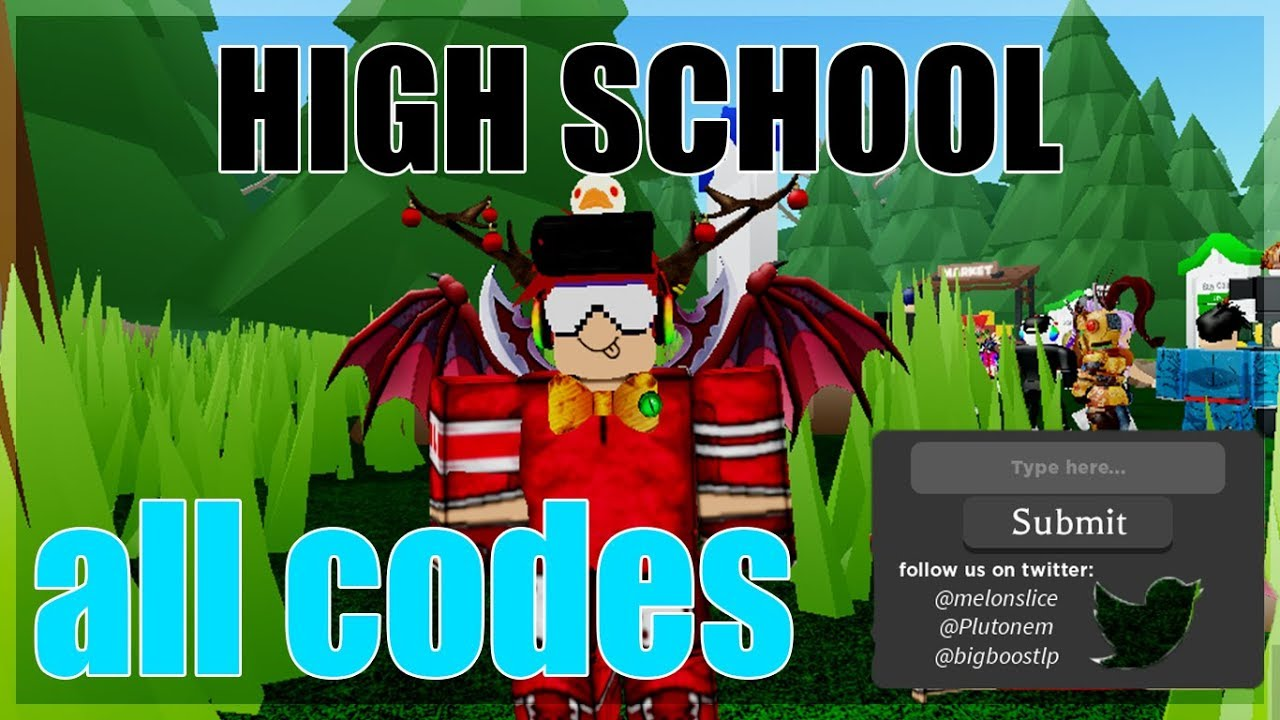 All Codes In High School 2019 Roblox Youtube