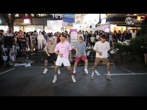 방탄소년단(BTS) - I need you & 쩔어(dope) Dance cover Busking in Hongdae