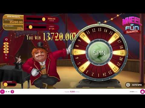FunFair Game: Wheel of Fun - Fairground