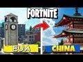 5 Cosas Que son DIFERENTES En Fortnite CHINA