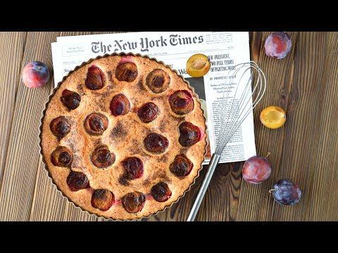 Сливовый американский пирог в мультиварке