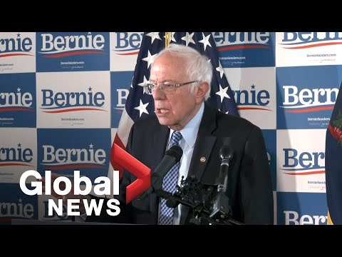 Bernie Sanders speaks for the first time since Super Tuesday results announced