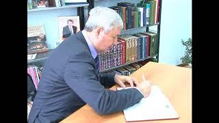Посещение Синеборской библиотеки председателем Законодательного собрания Челябинской области