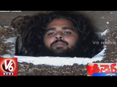 Baba Variety Penance At Ravirala Village   Ranga Reddy District   Teenmaar News   V6 News