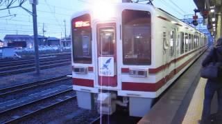 北越急行「超快速スノーラビット」越後湯沢行きがETR直江津駅を発車