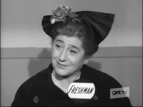 Gertrude Berg, Marion Ross, Mary WickesThe First Day, 1961 TV