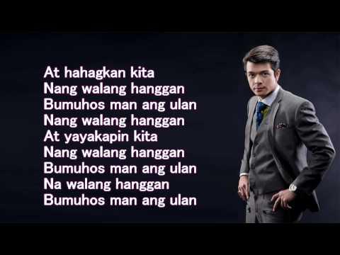 Bumuhos Man Ang Ulan - Jericho Rosales - Lyrics