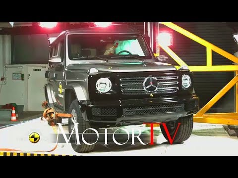 SAFETY : 2019 Mercedes-Benz G-Class Earns Five-Star Safety Rating From Euro NCAP