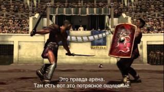 Spartacus Legends — Интервью с актерами (HD) на русском