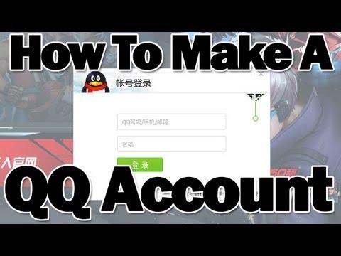 How to Create a QQ Account - Register for King of Combat (炫斗之王 Xuan Dou Zhi  Wang)