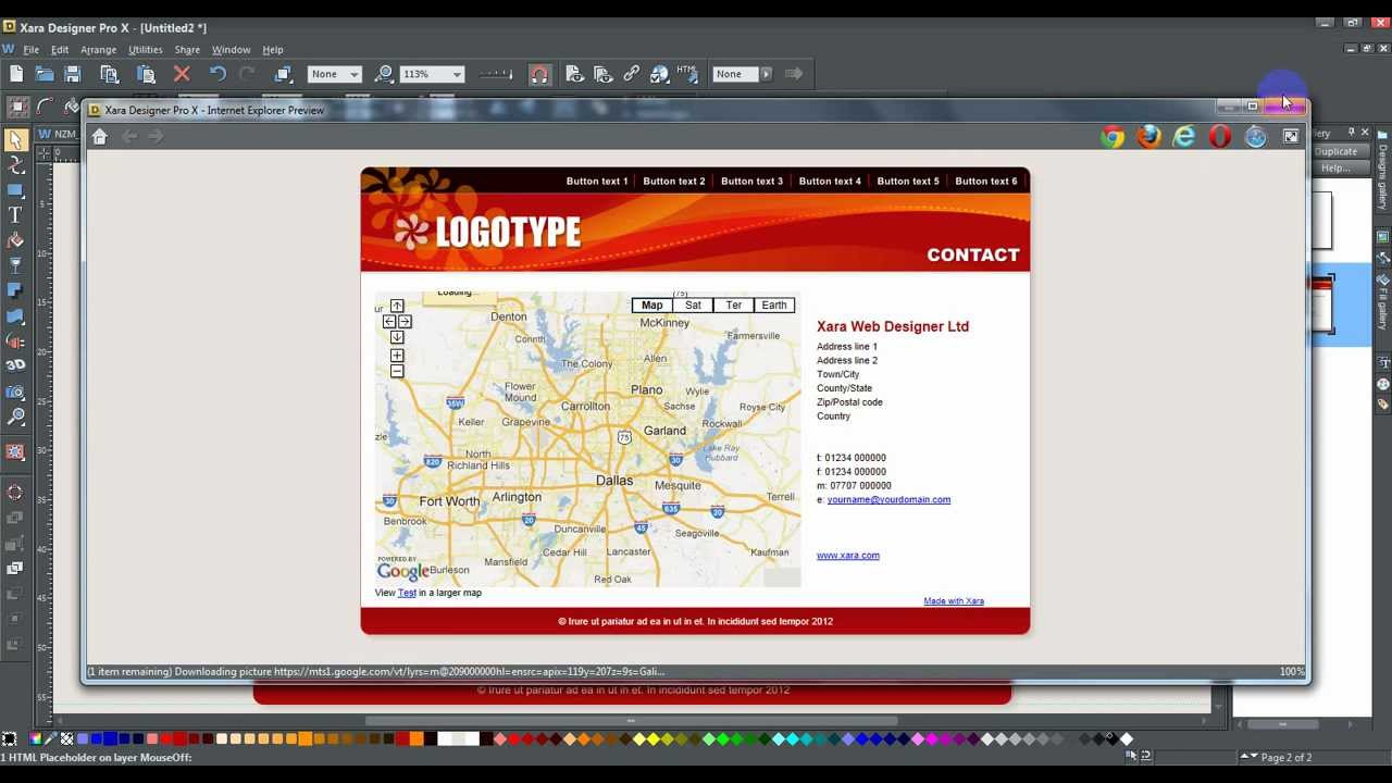 how to add google map in website using jsp