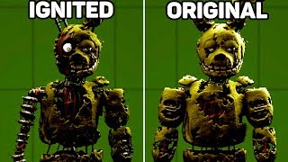 Five Nights at Freddy's: Types of Animatronics
