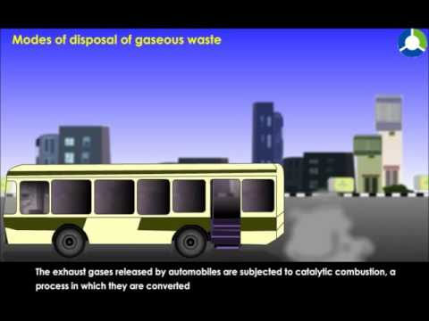 Modes Of Disposal Of Gaseous Waste
