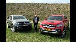 DUEL MERCEDES-BENZ X-KLASSE VS VW AMAROK (DK)