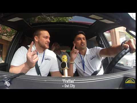 2018 RMAC Football Carpool Karaoke - South Dakota Mines