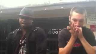 Amazing harmonica beatbox and freestyle session Nate and Bobby