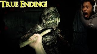 THIS MONSTER ABOUT TO MAKE ME QUIT YOUTUBE | Resident Evil 7 (TRUE ENDING) Midnight Version