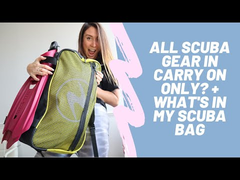 ALL SCUBA GEAR IN CARRY ON ONLY? Aqua Lung Explorer Bag