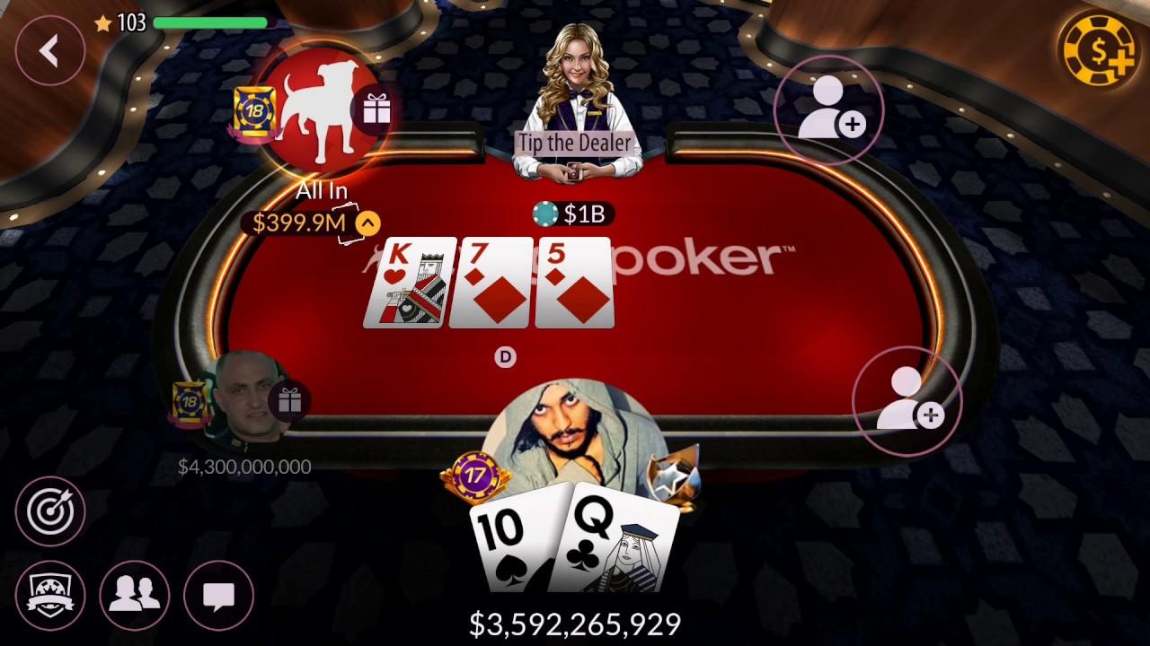 1-on-1 Poker