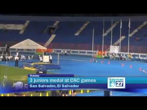 3 medals for Cayman at CAC Games