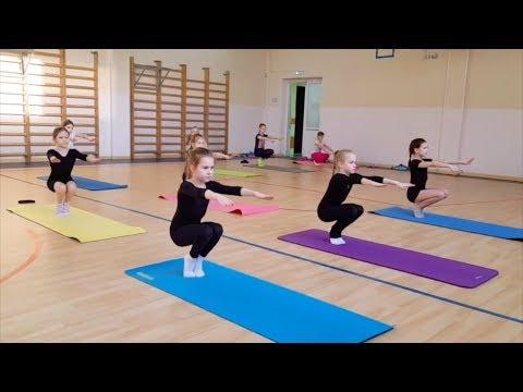 Урок 7. Гимнастика для детей 7-8 лет. Синхронное плавание