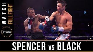 Spencer vs Black FULL FIGHT: June 23, 2019 - PBC on FOX