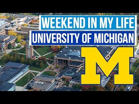Weekend Exploring the University of Michigan